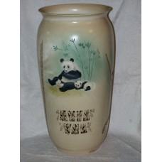 Vase - Panda Mom with Cub