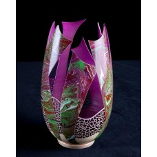 Ribbon Vase - Marbled Series